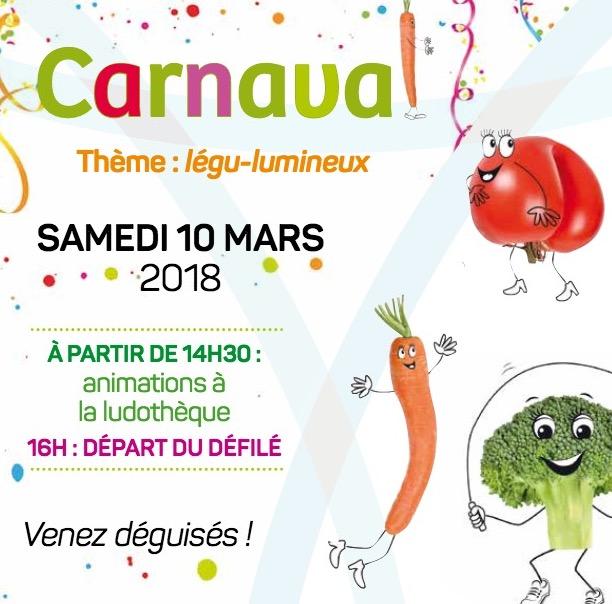 10 mars 2018 – 16h – Carnaval à Pontcharra