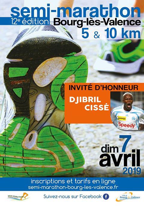7 Avril 2019 – Semi-Marathon de Bourg-lès-Valence